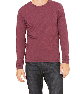 Heather Maroon Shirt